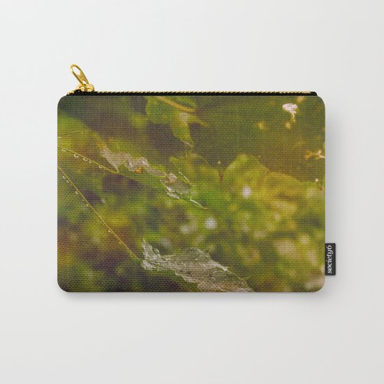 Rainy autumn leaves Carry-All Pouch