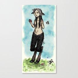 Satyress Canvas Print