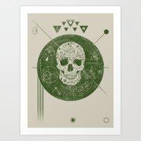 sagittarius Art Prints featuring Sagittarius by Josh Ln