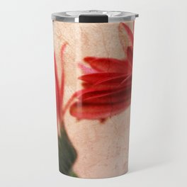 Red Texture 2 Travel Mug