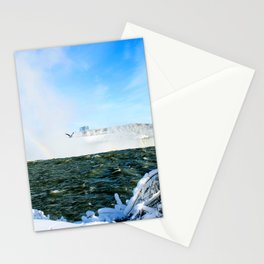 Ice in Niagara Stationery Cards