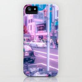 cherry blossom eyes iPhone Case