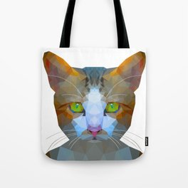 Cat new - white background Tote Bag
