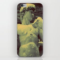 David Statue in Florence on a Snowy Day iPhone & iPod Skin