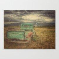 truck Canvas Prints featuring Truck by julipeko