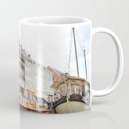 Boating Along Nyhavn Coffee Mug