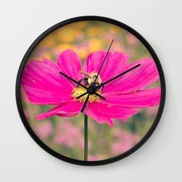 Pink and Bumble Wall Clock