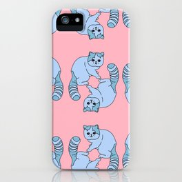 Playful Kittens, 2014. iPhone Case