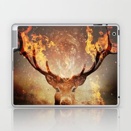 Internal flame Laptop & iPad Skin