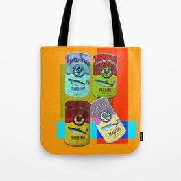 CANNED SARDINE Tote Bag