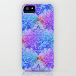 Damask Tapestry Pattern III iPhone Case