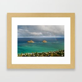 Mokulua Islands Framed Art Print