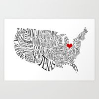ohio Art Prints featuring Ohio by Taylor Steiner