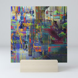 Mustered accumulations are the key now to cohesion Mini Art Print