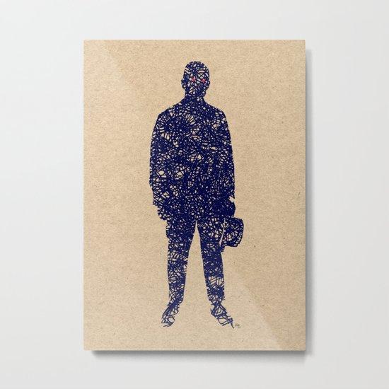 - closer to the sea - Metal Print