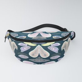Under The Sea Summer Swimming Lessons, Dark Blue Fanny Pack