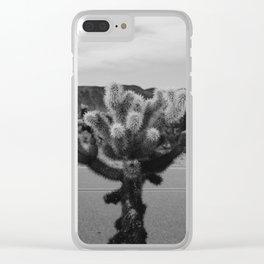 Cholla Cactus Garden XVII Clear iPhone Case