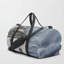 Lighthouse in Newfoundland, Canada Duffle Bag