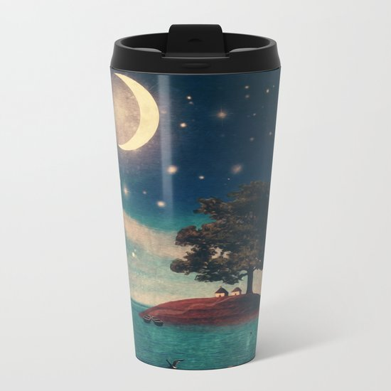 A Quiet Place for Two Metal Travel Mug