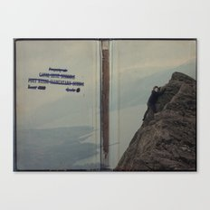 Yeti expedition Canvas Print