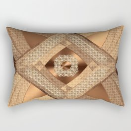Moca Twist Rectangular Pillow
