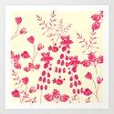 Watercolor floral garden  II by creativebd