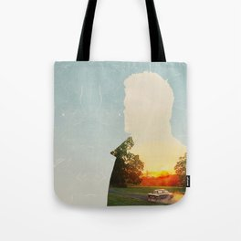Dean Winchester Supernatural Impala  Tote Bag