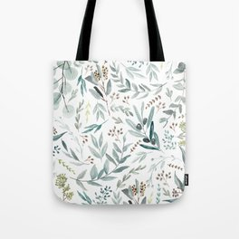 Eucalyptus pattern Tote Bag