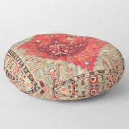 N114 - Vintage Old Antique Oriental Moroccan Artwork. Floor Pillow