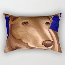 Lucky Dog Commision Rectangular Pillow