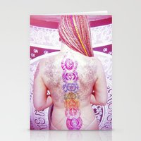 chakra Stationery Cards featuring Chakra Path by Webe Love