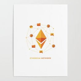 Ethereum Network Poster