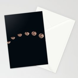 Moon Phase Photograph Stationery Cards