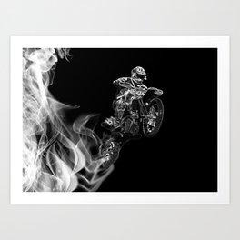 Smoke Rider Art Print
