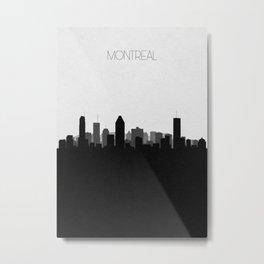 City Skylines: Montreal Metal Print