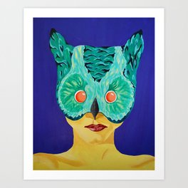 Masked Too Art Print
