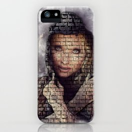 MAD MAXINE social distancing collection iPhone Case