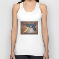 rap Tank Tops featuring Rap Genius by grimelords