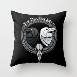 D&D - Raven Queen Throw Pillow