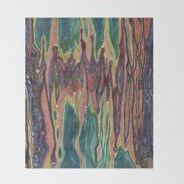 Unknown Immortal Species (The Door of Transcendence) Throw Blanket