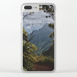 The Garden Isle Clear iPhone Case