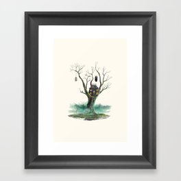 Treehouse of Horror Framed Art Print