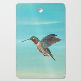 Hummingbird on the Move Cutting Board