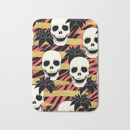 Skulls & Flowers  Bath Mat