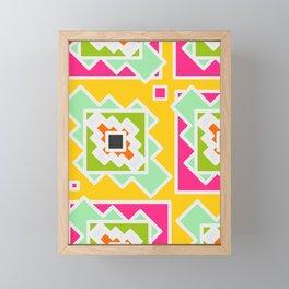 Festive summer party Framed Mini Art Print