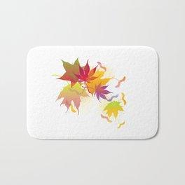 Maple Leaves Bath Mat