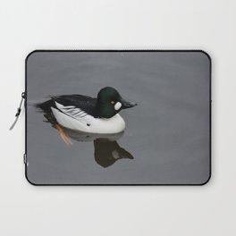 Golden Eyed Duck Laptop Sleeve