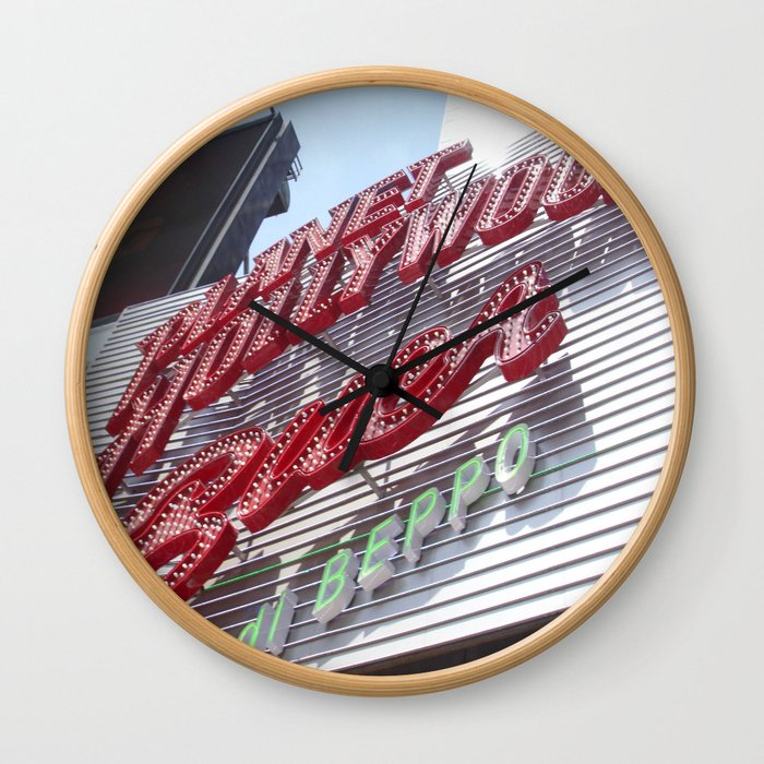 Welcome to the Big City Wall Clock