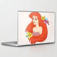 ariel Laptop & iPad Skins featuring Ariel by Rosita Maria