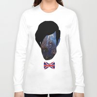the who Long Sleeve T-shirts featuring Who? by FOREVER NERD